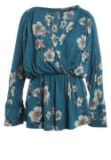 Free People TUSCAN DREAMS Tunikaer turquoise