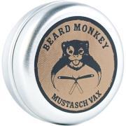 Mustasch Wax,  Beard Monkey Skægvoks
