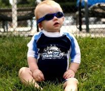 Solbrille - Baby Banz - Adventure - Mørkeblå