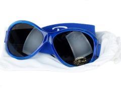 Solbrille - Baby Banz - Retro - Blå