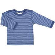 Uld trøje fra Joha - Fine Blue Stripes