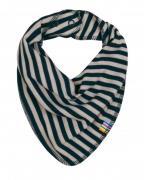 Savlesmæk fra Joha i uld-bomuld m. Blue-grey stripe