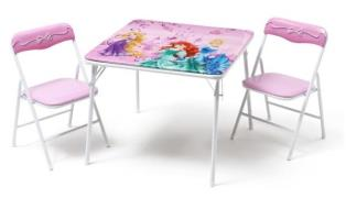 Disney Prinsesser Klapbord og stole