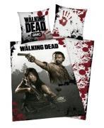 The Walking Dead Sengetøj 2i1 Design - 100 procent bomuld