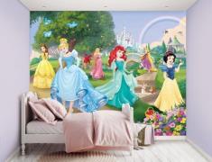 Disney Prinsesse tapet 243 x 305 cm