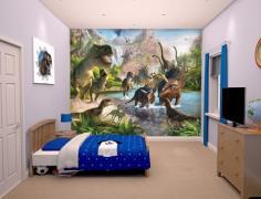 Dinosaur Land tapet 243 x 305 cm