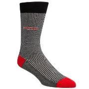Calvin Klein Elroy Hounds Tooth Dress Crew Socks * Gratis Fragt *