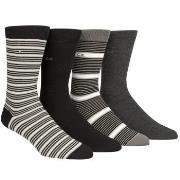 Calvin Klein 4-pak Kyler Striped Socks Gift Tin * Gratis Fragt *