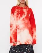 Ganni Sweatshirt Stonecrop Isoli Röd