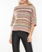 Ganni Sweater Multi Knit Multicolor
