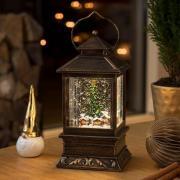 Snelanterne Julemarked LED vandfyldt