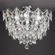 Rosendal loftlampe Ø 48 cm, krom