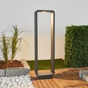 Ninon - LED gadelampe med afrundede hjørner