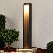 Grafitgrå LED-væglampe Jaron
