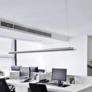 Lang pendellampe Vinca med kraftige LED'er