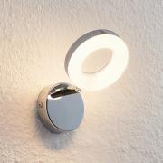 ELC Tioklia LED-spot, krom, 1 lyskilde
