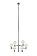 Loftlampe Capital, krom