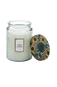French Cade & Lavender - Large Glass Jar Candle 100h