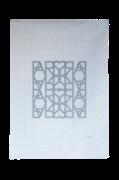 Håndprintet Poster Paris Love 50x70 cm