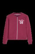 Sweatshirt af økologisk bomuld