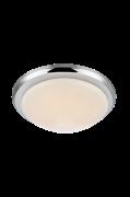 Loftlampe Rotor LED 35 cm Kromfarvet/Hvid