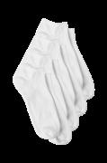 Ankelstrømper Basic Sneaker, 4-pak