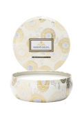 Nissho Soleil - 3 Wick Candle in Decorative Tin 40 timer 340 g