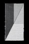 Tæppe Stripe 70x140 cm