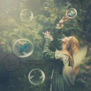 Plakat KIDS Fairygarden 50x50 cm