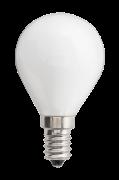 Pære E14 LED Globe Opal 1,5 W