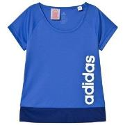 adidas Performance Blue Branded Training Tee 7-8 years (128 cm)