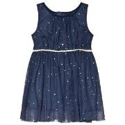 Jocko Navy Baby Dress with Golden Dots 74 cm (6-9 mdr)