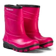 Tenson Alfon Lined Rubber Boots Pink 24 EU