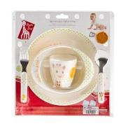 Sophie The Giraffe Meal Time Set One Size