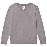 GAP V-Neck Sweater Charcoal Grey S (6-7 år)