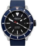 Alpina Seastrong Herreur AL-525LBN4V6 Sort/Gummi Ø44 mm