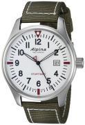 Alpina Startimer Herreur AL-240S4S6 Hvid/Tekstil Ø42 mm