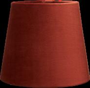 Lampeskærm Mia velour 17,5 cm