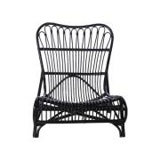HOUSE DOCTOR Colone loungestol - sort rattan