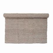 BLOOMINGVILLE gulvtæppe - natur jute/bomuld, rektangulær (...