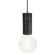 Globen Lighting-Marble loftslampe, sort marmor