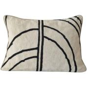 Mimou-Arches Cushion 30x50 cm, Black