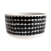 Räsymatto skål 5 dl sort