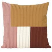 Shay quilt cushion 50x50 cm Mustard