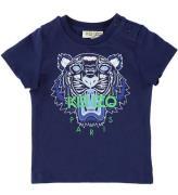 Kenzo T-shirt - Navy m. Tiger