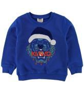 Kenzo Sweatshirt - Blå m. Nissehue